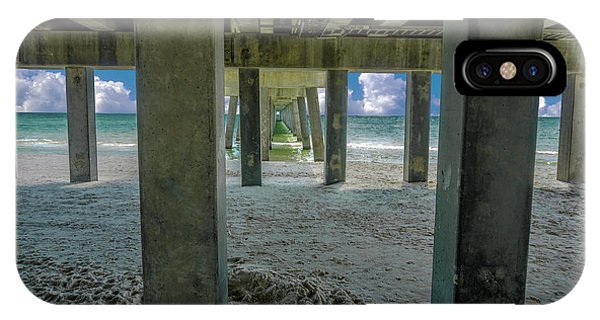 Gulf Shores Park And Pier Al 1649 IPhone Case