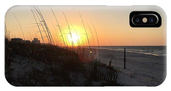 Gulf Shores Sunrise  IPhone Case