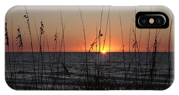 Gulf Sunset In Florida IPhone Case