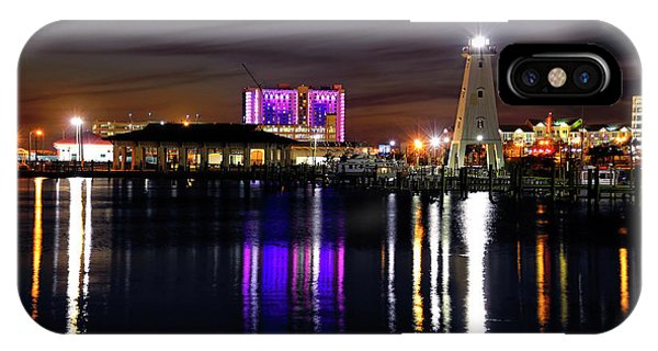 IPhone Case featuring the photograph Gulfport Lighthouse - Mississippi - Harbor by Jason Politte