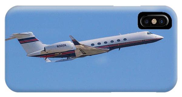 Gulfstream Gv Private Jet IPhone Case