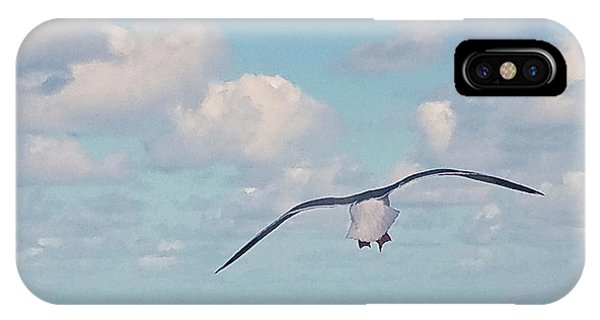 Gull Getaway IPhone Case