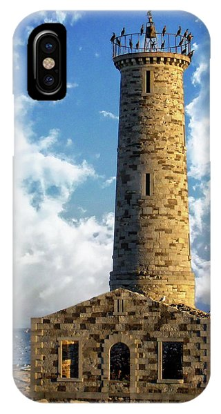 Gull Island Lighthouse IPhone Case