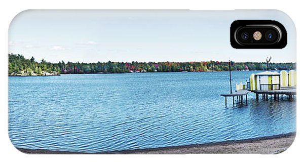 Gull Lake Panorama IPhone Case