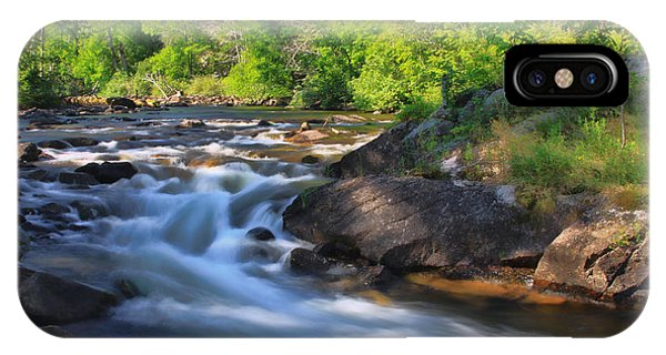 Gull River Falls - Gunflint Trail Minnesota IPhone Case