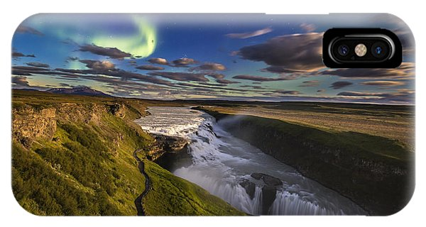 Gullfoss Iceland IPhone Case