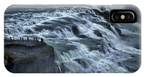 Gullfoss Waterfall #6 - Iceland IPhone Case