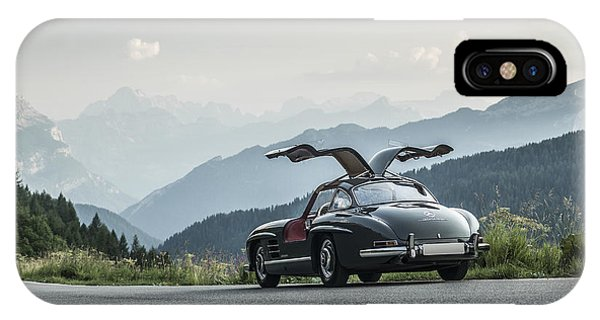 Gullwing In The Mountains IPhone Case
