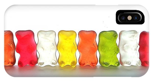 Gummy Bears In A Row IPhone Case