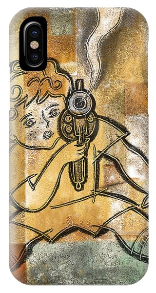Accident iPhone Case - Gun Control And Violence by Leon Zernitsky