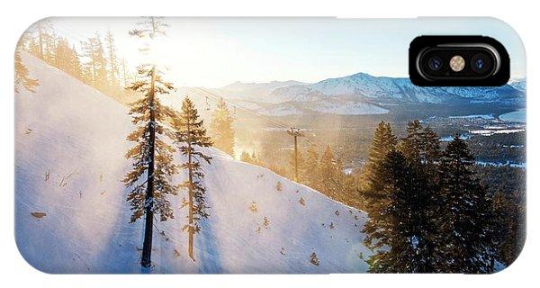 Gunbarrel Rays By Brad Scott IPhone Case