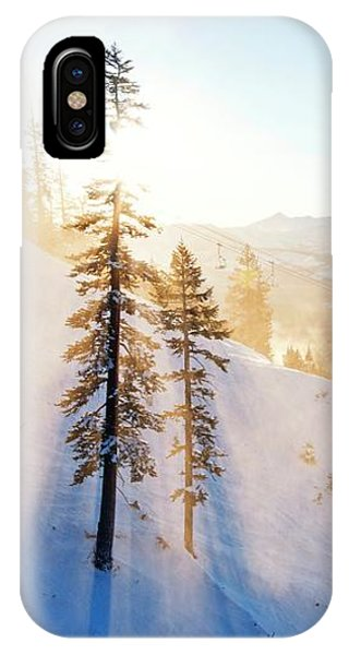 Gunbarrel Rays By Brad Scott IPhone Case