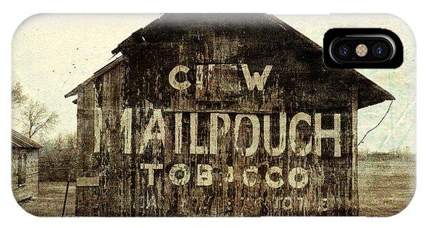 Gunge Mail Pouch Tobacco Barn IPhone Case