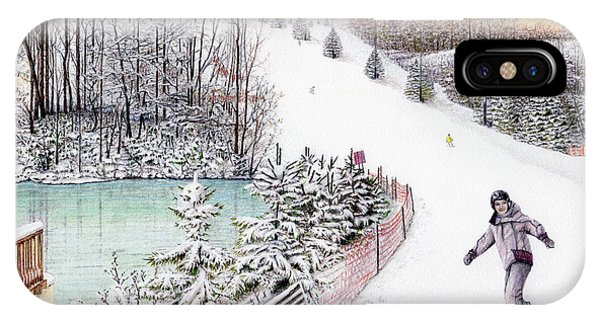 Gunnar Slope And The Ducky Pond IPhone Case