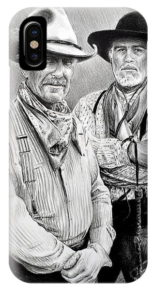 Gus And Woodrow IPhone Case
