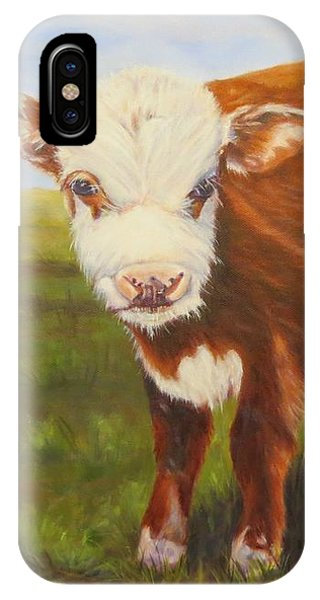 Gus, Cow IPhone Case