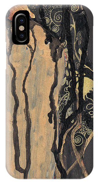 Gustav Klimt's Tears IPhone Case
