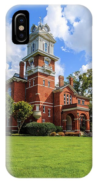 Gwinnett County Historic Courthouse IPhone Case