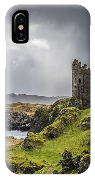 Gylen Castle On Kerrera In Scotland IPhone Case