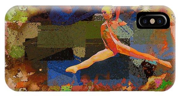 Gymnast Girl IPhone Case