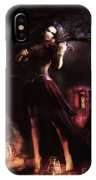 iPhone Case - Gypsy Moon by Shanina Conway