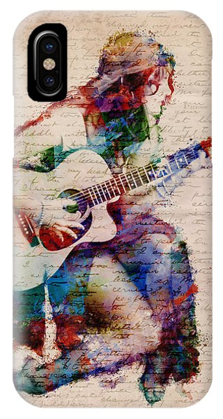 Rock And Roll Art iPhone Case - Gypsy Serenade by Nikki Smith
