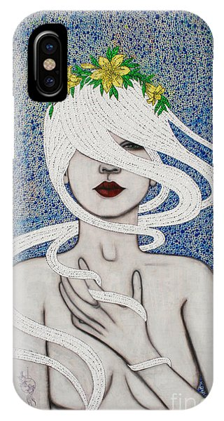 IPhone Case featuring the mixed media Gypsy Soul by Natalie Briney
