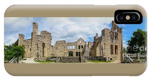 Ha Ha Tonka Castle Panorama IPhone Case