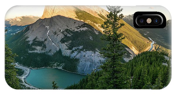 Rocky Mountain Np iPhone Case - Ha Ling Peak by Martin Capek