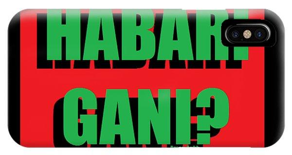 Habari Gani IPhone Case