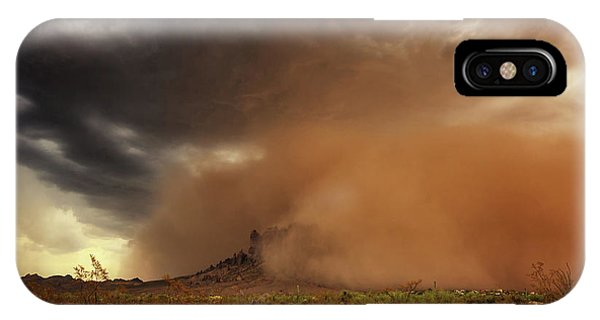 Haboob Is Coming IPhone Case