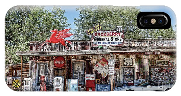 Hackberry General Store On Route 66, Arizona IPhone Case