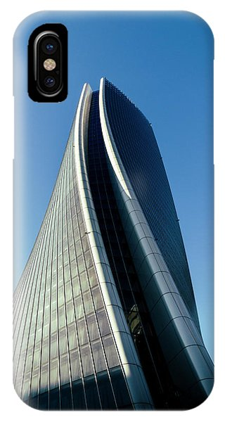 Hadid Tower, Milan, Italy IPhone Case