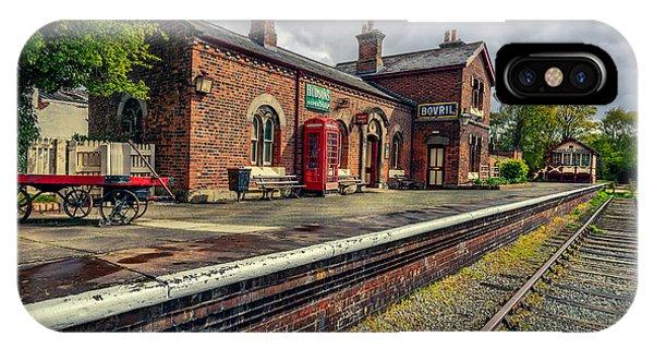 Sleeper iPhone Case - Hadlow Road Railway Station by Adrian Evans