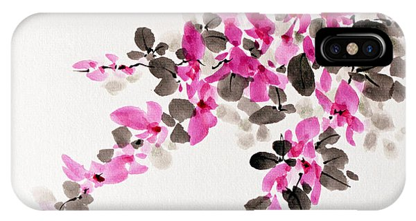 Hagi / Bush Clover IPhone Case