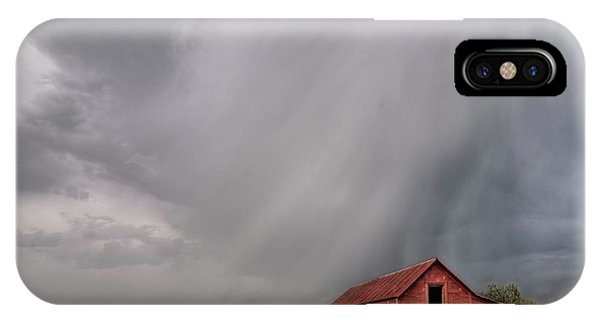 Hail Shaft And Montana Barn IPhone Case