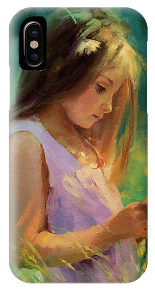 Abstract Figurative iPhone Case - Hailey by Steve Henderson