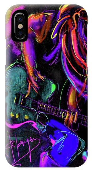 Hair Guitar 2 IPhone Case