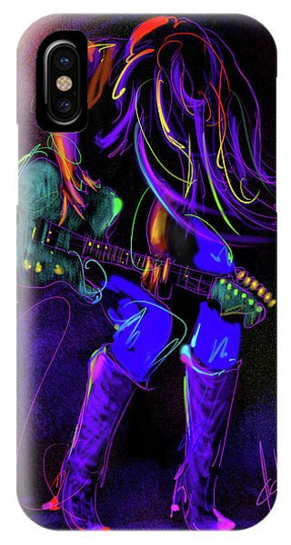 Hair Guitar IPhone Case