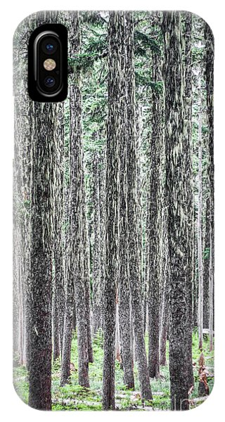Hairy Forest IPhone Case