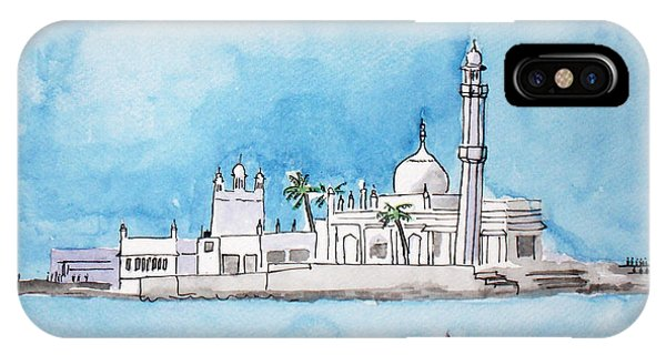 Haji Ali Mumbai IPhone Case