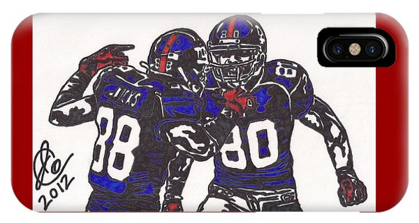 Hakeem Nicks And Victor Cruz IPhone Case