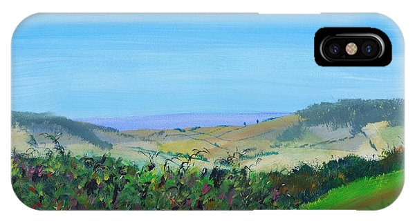 Haldon Hills Sea View IPhone Case