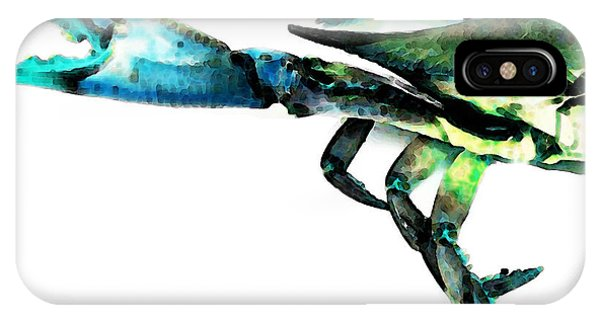 Half Crab - The Left Side IPhone Case