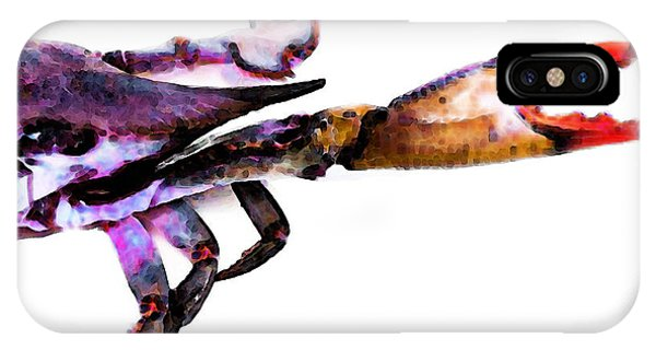 Half Crab - The Right Side IPhone Case