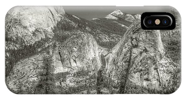 IPhone Case featuring the photograph Half Dome And Liberty Cap by Michael Kirk