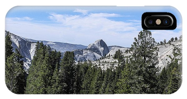 Half Dome From Olmstead Point Yosemite Valley Yosemite National Park IPhone Case