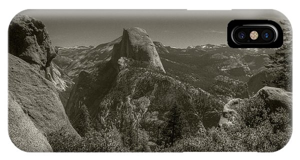 IPhone Case featuring the photograph Half Dome From Panorama Trail by Michael Kirk