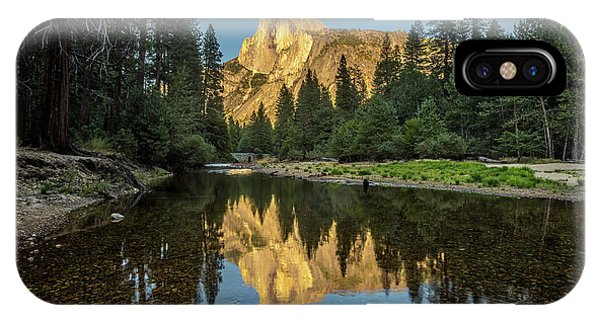 Half Dome From  The Merced IPhone Case