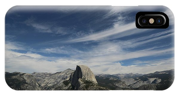 Half Dome Sky IPhone Case